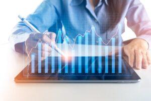 גרפים במסחר למניות